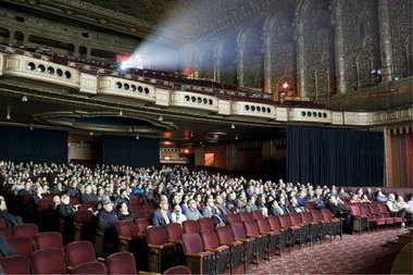 The Loew's 175th Street Theater, also known as the United Palace Theater, was prioritized for landmark designation Wednesday.