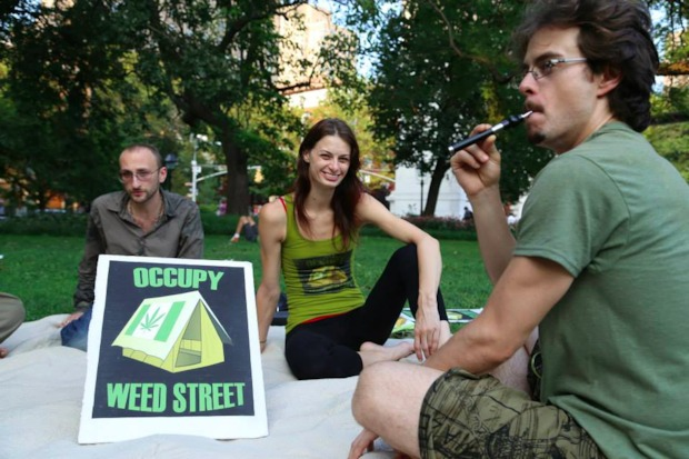 Marijuana legalization activist group Occupy Weed Street recently started the 420 Fight Club, free weekly martial arts classes aiming to debunk the stereotype that stoners are lazy.