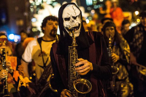 Halloween festivities take over the city this weekend.
