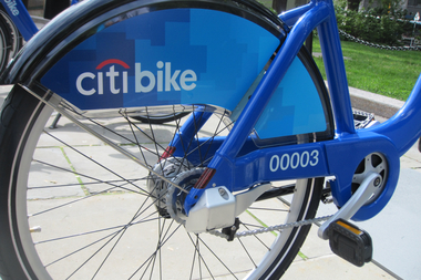Christian Damgaard stole a Citi Bike and painted it purple, police said.