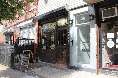 The Coffee Shop opened in July 2014 at 203 Wilson Ave. in Bushwick.
