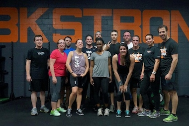 Crossfit Outbreak, located at 10 Grand Ave., officially opened on Oct. 20.