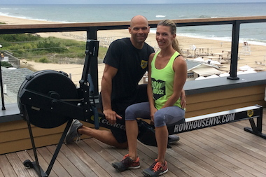 Debra Strougo Frohlich and her husband Eric Von Frohlich are the co-founders of Row House, a workout concept based on the row machine. They purchased row.nyc for the launch of their clothing brand and will move their main address to rowhouse.nyc.