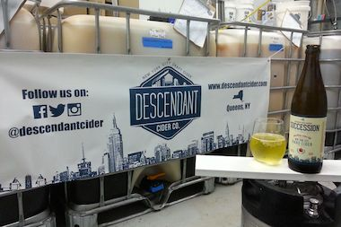 Descendant Cider Co. of Maspeth will launch at the Queens Kickshaw Friday to kick off Cider Week in NYC.