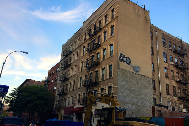 Tenants of 102 Norfolk St. have complained about noisy construction and a lack of communication from their landlord, among other issues.