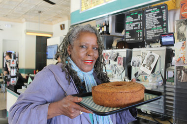 Jean Chatman was one of more than a dozen vendors to meet with Whole Foods representatives during this year's Harlem Harvest Fest on October 10. The local baker will get an inside scoop of how to get her desserts in the shelves of the national retailer.