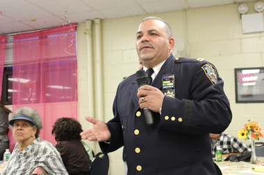New arrivals in Bushwick are accustomed to a different lifestyle and don't lock their doors, according to Deputy Inspector Maximo Tolentino, the Commanding Officer of the 83rd Precinct.
