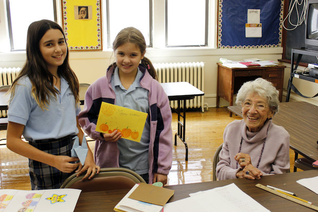 Madeline Scotto has been teaching at St. Ephrem's in Dyker Heights since 1954, and turned 100 on Oct. 16.