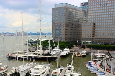 The North Cove Marina, operated for years by the Manhattan Yacht Club, will now be controlled by Brookfield Office Properties.