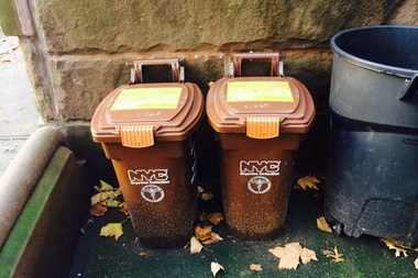 Locals living in parts of the Brooklyn Community Board 1 area will soon be able to drop food scraps at the curb as part of the city's organics program.