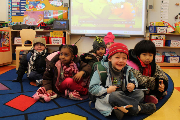 Pre K Children At Forest Hills P S 303 Which Is Among The City