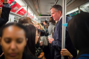 Mayor Bill de Blasio has refused to pay for the proposed MTA emergency action plan.