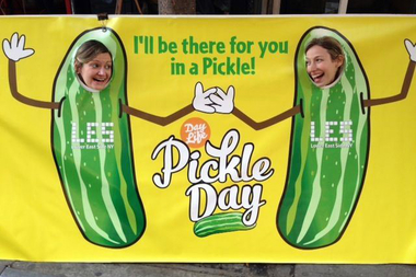 The Lower East Side Pickle Day will take place on Oct. 4, 2015 from 12 to 5 p.m. on Orchard Street at between Houston and Delancey streets.
