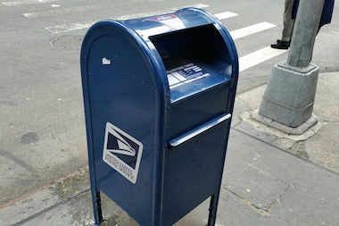 Residents said they've spotted several mailboxes in Inwood and Washington Heights with a sticky substance inside.