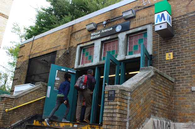 The Wilson Avenue L train station is set to have between $3 million and $5 million worth of repairs, including tile replacement, paint jobs, concrete replacement and a handicap ramp.