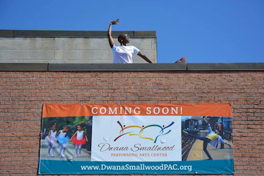 Professional dancer Dwana Smallwood will open a performing arts center in Bedford-Stuyvesant in February.