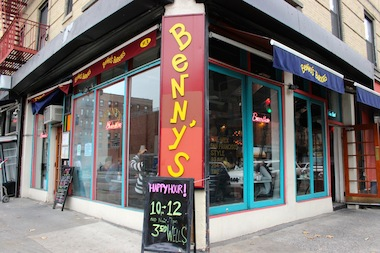 Benny's Burritos, on the corner of East Sixth Street and Avenue A, will close Saturday and then operate a small take-out location.