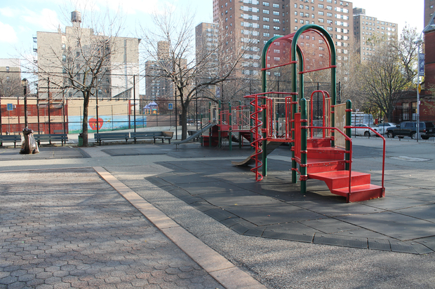 A group of Community Board 7 members is working to redesign the playground on Amsterdam Avenue between West 104 and 105th streets.