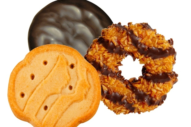 Who doesn't love a box of Girl Scout cookies?