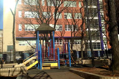 Joseph Slifka Park is adjacent to the View 34 apartments at 401-429 E. 34th St. in Manhattan.