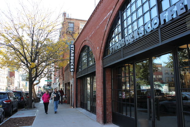 Starbucks opened its second Williamsburg location at 154 North Seventh St. on Monday, Nov. 3, 2014.