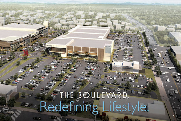 """The Boulevard"" aims to turn Hylan Plaza into Staten Island's ""downtown hub."""