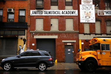 United Talmudical Academy is in violation of two New York City codes, according to the DOB.