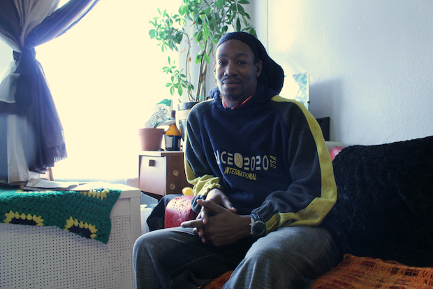 Zxavier Simpson has been in a legal fight with SHUHAB, a tenants advocacy group that owns 640 Riverside Drive. SHUHAB made the public advocate's worst landlord list this year for its operation of the property.