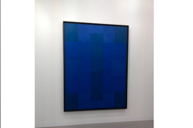 "Ad Reinhardt's ""Blue Painting"" sold for between $5 million and $10 million at Art Basel in June, according to reports."