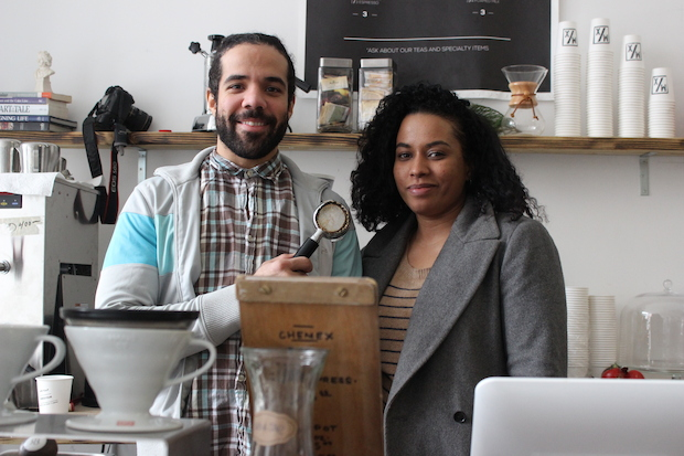 The Mix Coffeehaus has opened up a temporary location at 55 Bruckner Blvd. in Mott Haven.
