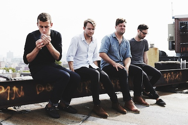 "Cymbals Eat Guitars recently released its third album ""LOSE."" Joseph D'Agostino (far left) is the band's front man."