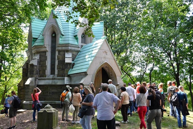 Historic Green-Wood Cemetery plans to build new crypts and niches, according to court documents.