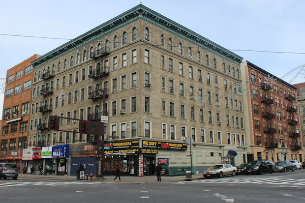 A six-story building on 125th Street and St. Nicholas Avenue has not had cooking gas since July. Tenants who pay market rate got an electric stove while those who are in rent controlled apartments got hot plates.