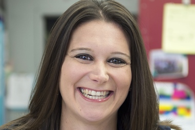Megan Driscoll Berdugo teaches geometry and calculus at Brooklyn International High School.