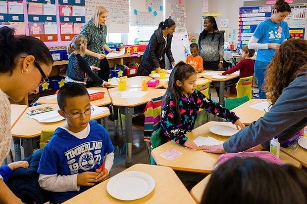 P.S. 133 sets aside 35 percent of kindergarten seats for poor and immigrant kids to preserve the school's diversity.