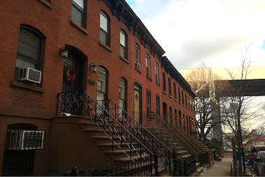 Huntington Street in Carroll Gardens.