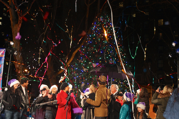 The festival features music, food, dance and a tree lighting in Lincoln Square.