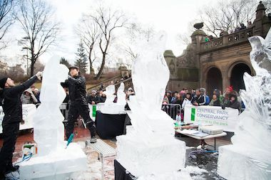 The Ice Festival for Saturday has been canceled because it will be too cold, according to the Central Park Conservancy.