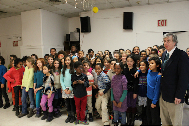 Central Park East Mixed Chorus performed at Carter Burden Center for Aging/Leonard Covello Senior Program on Jan.  21, 2015.