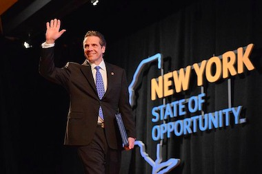 Cuomo's ratings fell to their lowest point since September 2015, a Quinnipiac University poll found.