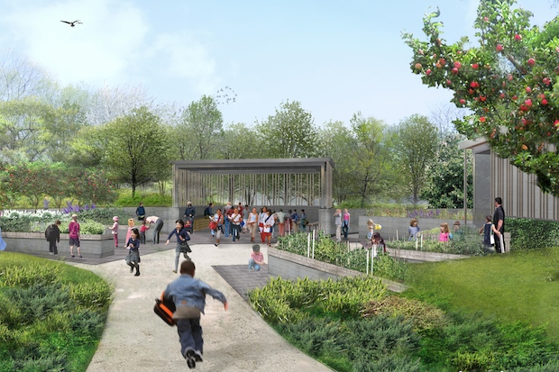 New Children 39 S Garden Opens This Weekend At The Brooklyn