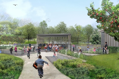 A Newly Built Garden For Children, The Discovery Garden, Will Open In June  At