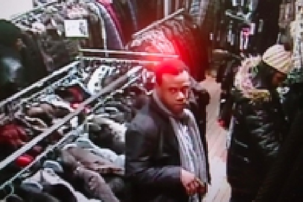 The suspects stole three fur coats from a store on Austin Street.