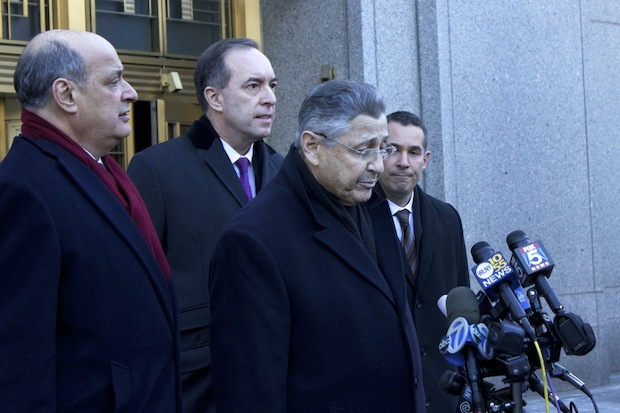 "Indicted Assembly Speaker Sheldon SIlver maintained support in high places Thursday when Mayor Bill de Blasio called the speaker a ""man of integrity."""