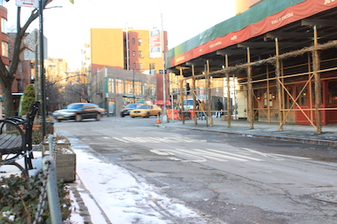 The city will permanently close this stretch of Waverly Place near Seventh Avenue South as part of a pedestrian safety initiative.