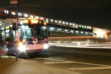 The new AirTrain to LaGuardia could be an alternative for other transporation options like the M60 bus.