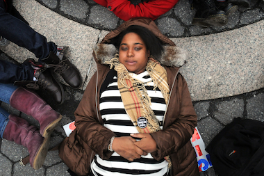 Eric Garner's daughter, Erica Garner, 24, created a foundation, the Garner Way Foundation in honor of her father.