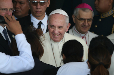 Public officials have greeted attempts to sell Pope Francis tickets with scorn.