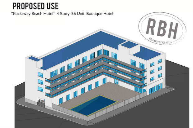 The Rockaway Beach Hotel is still in preliminary stages but the owners want the community involved.