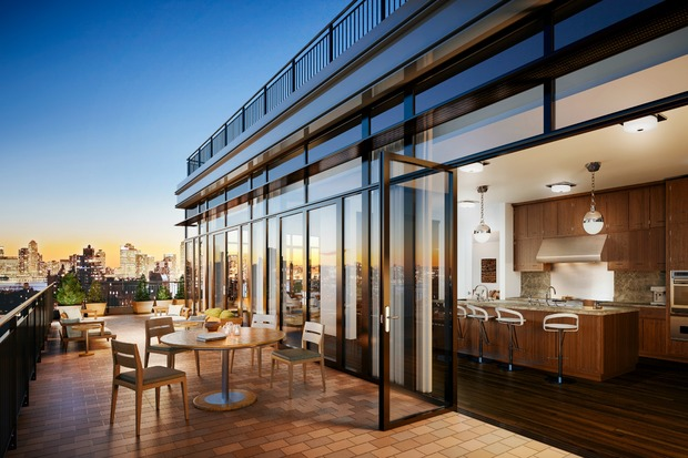 45 million penthouse may be the village 39 s most expensive for Most expensive penthouse in nyc